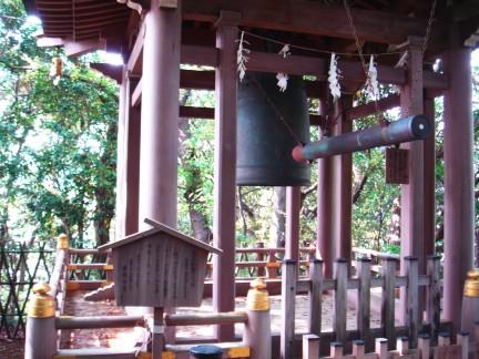 安国論寺釣り鐘