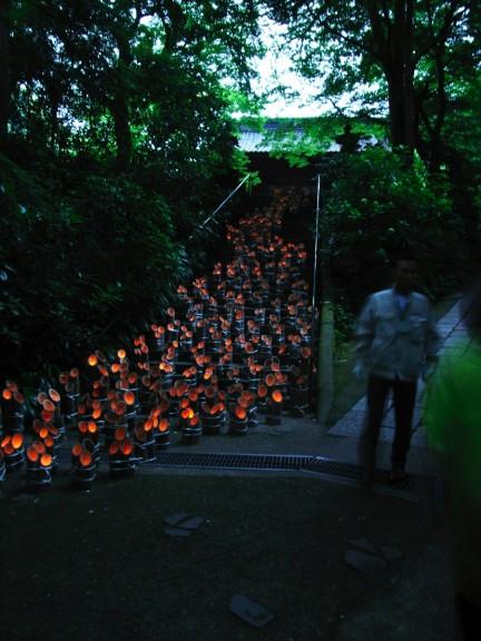 竹灯籠「いのちの灯」